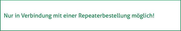 Erweiterungen für Ihren GSM Repeater