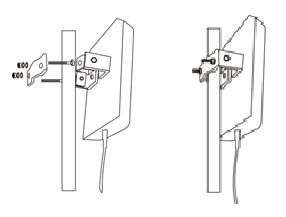 Installieren der LTE Aussenantenne